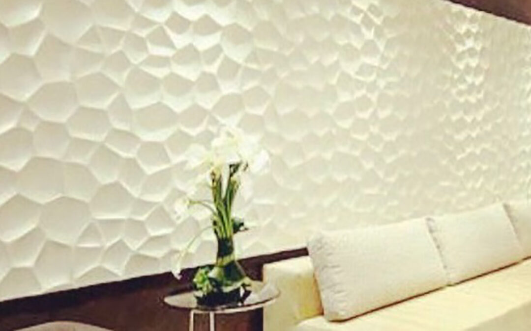 Paneles decorativos 3D – una buena opción para decorar cualquier espacio